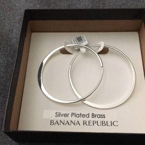 Banana Republic Silver Earrings